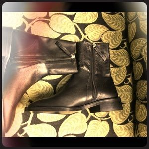 Topshop leather short boots